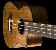 Oscar Schmidt Debuts Uncle Willie K's New Signature Ukulele