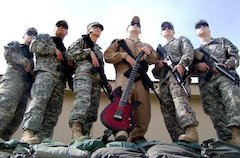 A Parker Guitar for the Troops in Afghanistan