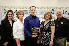 Roland Corporation U.S. Earns Friend Of Education Award