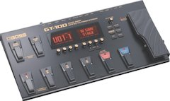 Boss Announces GT-100 Amp Effects Processor