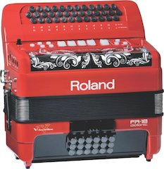 Roland Debuts The FR-18 Diatonic V-Accordion