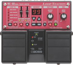 Boss Announces RC-30 And RC-3 Loop Station Pedals