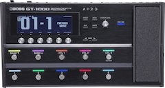 BOSS Announces Version 3 Update for the GT-1000 Guitar Effects Processor