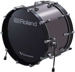 Roland Expands the V-Drums Lineup With Full-size Bass Drums for Big Stage Presence and Authentic Acoustic Kick Feel
