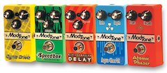SHS International Unveils Modtone Effects Pedals