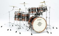 Ever Exotic Offerings: Tama Debuts Warlord Exotix Set [ Winter NAMM 2007 ]