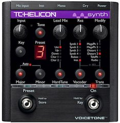 TC-Helicon Announce VoiceTone Synth, Offering Radical Vocal Processing In A Pedal
