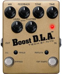 Tech 21 Releases Boost D.L.A. with Tap Tempo