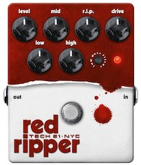 Tech 21 Introduces Red Ripper Fuzz for Bass
