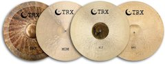 The Return Of A Classic - TRX Cymbals Introduces 20″ Crash-Rides [ Winter NAMM 2007 ]