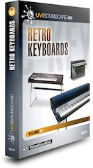 Ultimate Sound Bank Unveils Retro Keyboards UVI Soundcard [ Winter NAMM 2007 ]