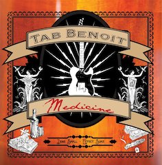Tab Benoit Prescribes A Dose Of Musical Medicine On April 26 Telarc Release