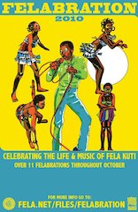 This October, It's A Felabration!!! Nationwide October Parties To Celebrate Fela's October 15th Birthday