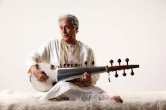 Indian classical master Amjad Ali Khan returns to IU for Jacobs School residency