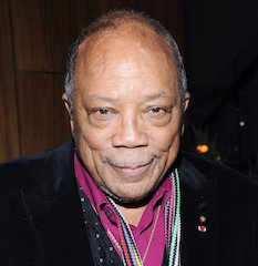 Multi-Grammy Winning Producer Quincy Jones Recognized By France's Ministry Of Culture