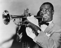 Louis Daniel Armstrong Discusses Music