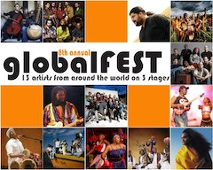 Unexpected Trends, Emerging Hybrids, and Edgy Roots: globalFEST Returns to NYC with 13 Artists on Three Stages, January 9, 2011