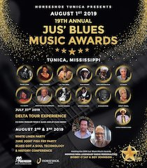 Countdown to the 2019 Jus' Blues Music Awards Conference