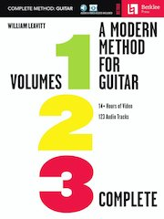 A Modern Method for Guitar: Volumes 1, 2, & 3 Complete