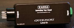 Kasha QUICKMOD® Mini Modifies Guitar Amp Versatility