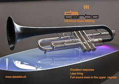 daCarbo, The world's first and only Carbon Fibre Trumpet
