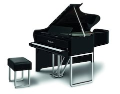 Yamaha Offers First North American Viewing of Bösendorfer Audi Design Grand Piano at Winter Namm 2011