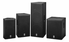 More Power To You: Yamaha Introduces DSR Series Active Loudspeakers