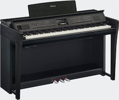 Yamaha Clavinova CVP-800 Series Offers Breathtaking Sound, Miles of Styles for Immersive Digital Piano Experience